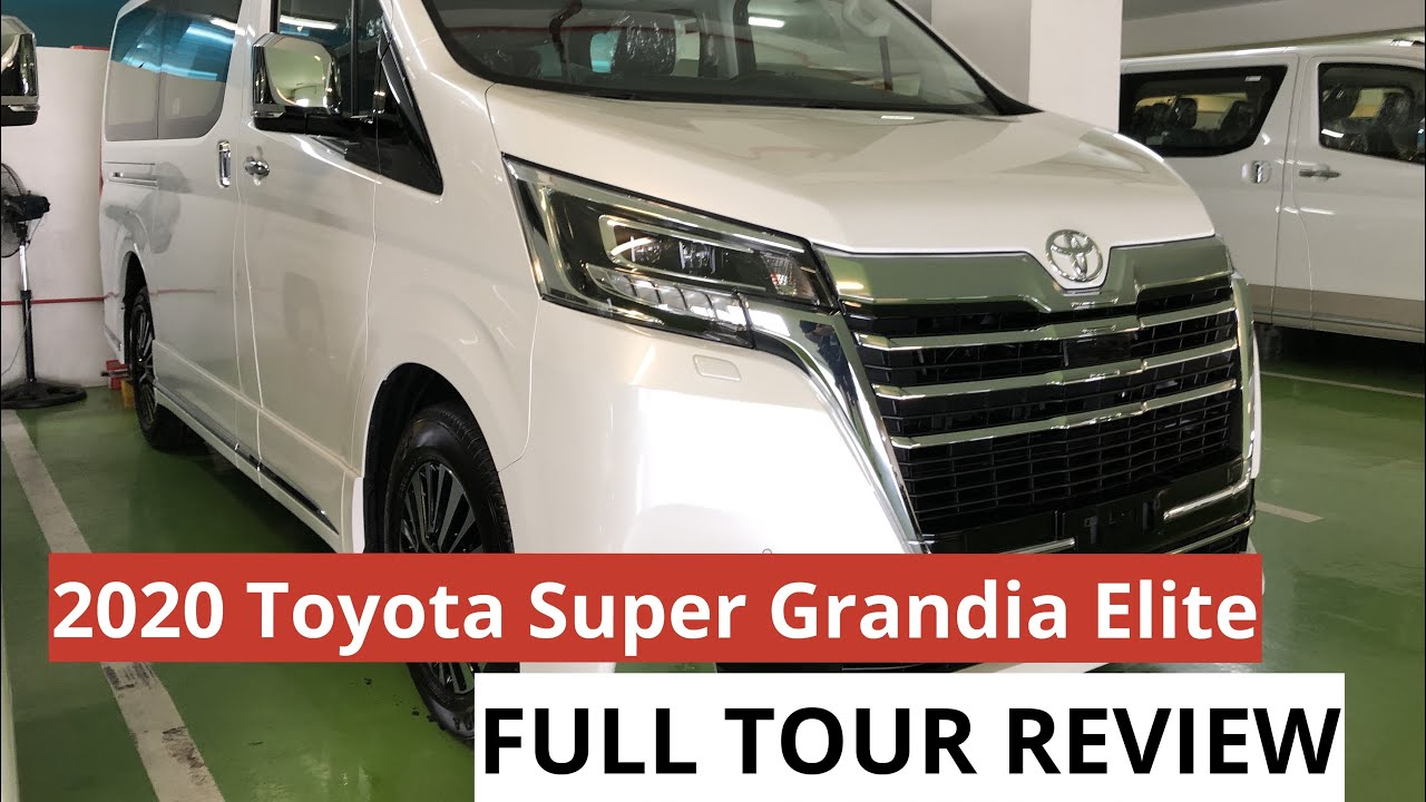 2020 toyota hiace super grandia elite full tour review youtube 2020 toyota hiace super grandia elite full tour review