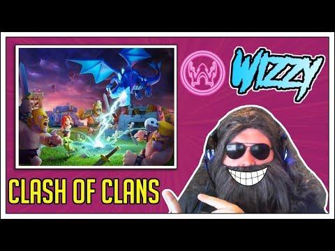 Clash Of Clans Live! - Trophy Pushing + Clan War + Base Shoutout - Come Join!