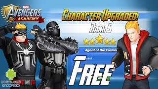 MARVEL: Avengers Academy - FREE Agent Venom Unlock and Rank Up 5