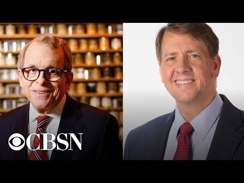 Ohio governor race: Mike DeWine, Richard Cordray face off  in their first debate