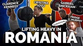 Lifting Heavy in Romania - 220kg Clean and Jerk Attempt