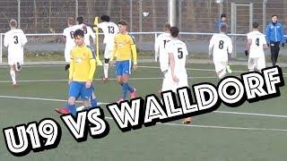 Oberligaspiel in Walldorf | U19