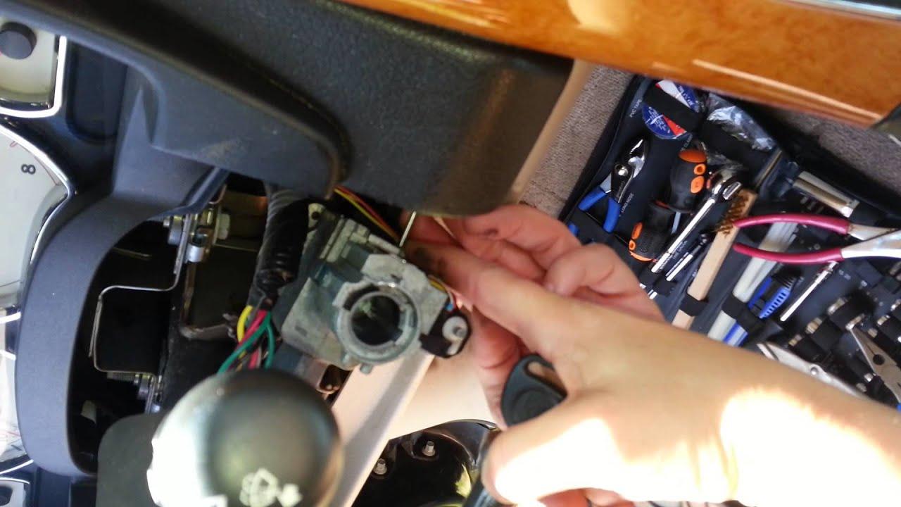 Saturn ignition switch