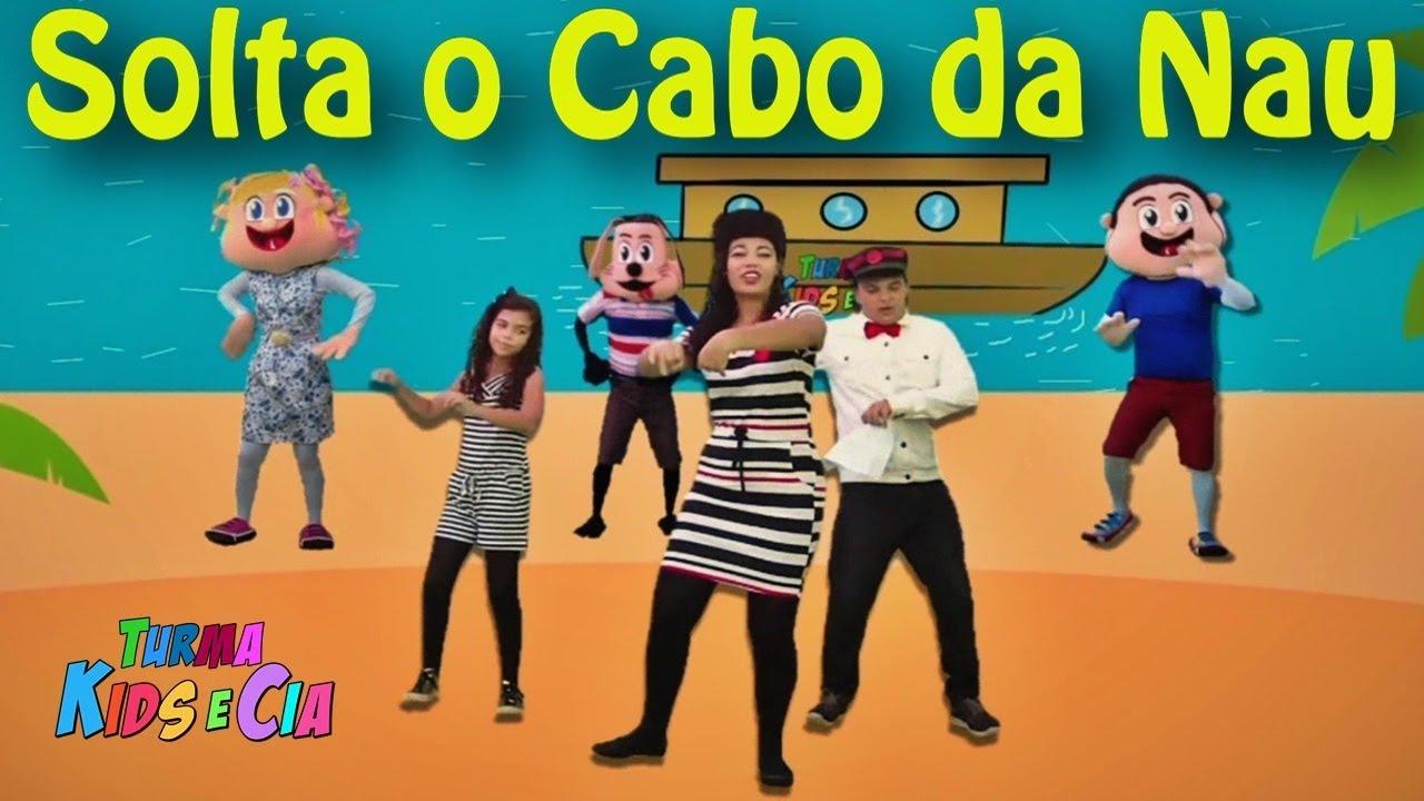 Turma Kids e Cia - SOLTA O CABO DA NAU ???? (Música Gospel Infantil)