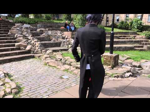 Black Butler Cosplay Madness - Grell meets Claude