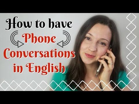 How to have Phone Conversations in English