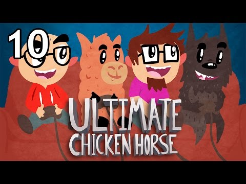 Ultimate Chicken Horse with Friends - Episode 10 - Superfinger