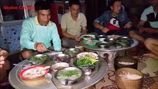แบ่งปันน้ำใจสู่เมืองลาว EP29:กินข้าวเเลงกับไทบ้านอ่างลัง ซุปหน่อไม้ แกงหน่อไม้ ต้มเป็ด เลือดแปงเป็ด