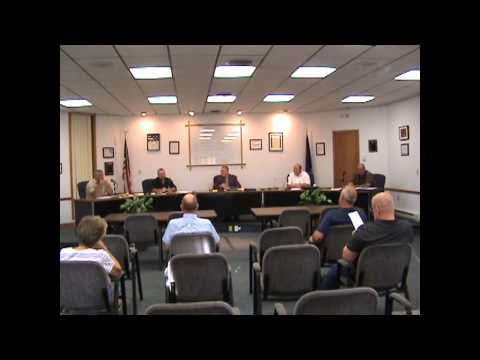 Rouses Point Village Board Mtg  7-20-15