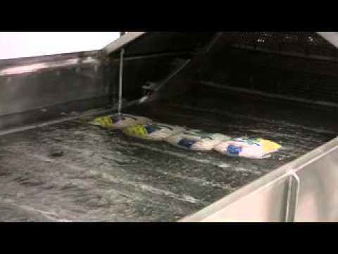 129. Deli Turkey Post-Package Pasteurization | Unitherm Aquaflow Pasteurizer