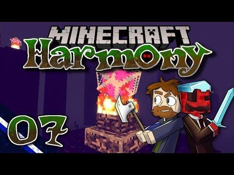 Minecraft: Harmony ▫ Fight the Dragon with Ninja Skill! (Ep.07)