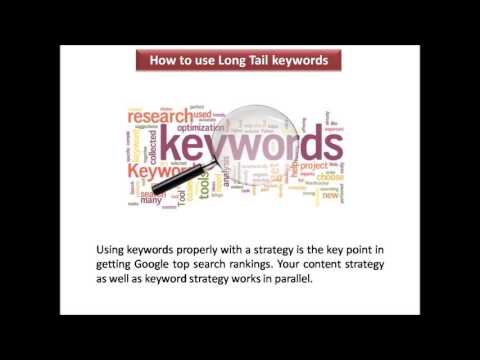 How to use Long Tail keywords in low domain authority website