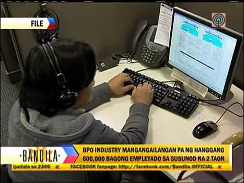 BPO industry will need 600,000 new workers