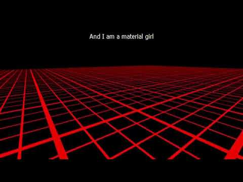 MATERIAL GIRL (Lời Dịch Anh Việt) Madonna
