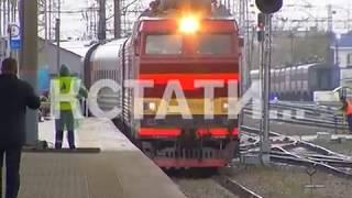 Смертельная авария с нижегородским поездом - состав столкнулся с автобусом, 15 человек погибли