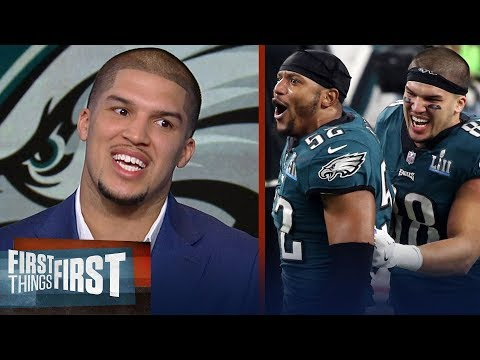 Eagles' Trey Burton on the Philly Special and becoming a Super Bowl champion | FIRST THINGS FIRST