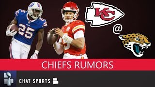 Chiefs Rumors: LeSean McCoy's Role, Patrick Mahomes Expectations & Tremon Smith Back To Cornerback