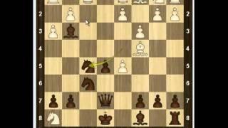 Уроки шахмат - Контратака Тракслера 2