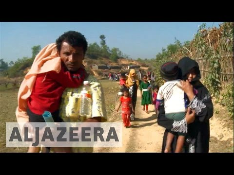 Rohingya refugees speak of abuse by Myanmar army