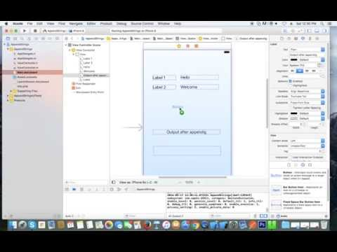 Append Two Labels Data Into String And Then Display On Uilabel In Objective-C