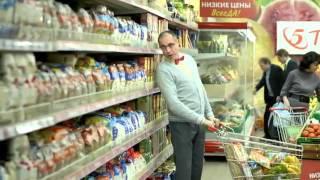 Дмитрий Соколов в рекламе Пятерочка