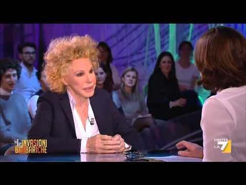 Le Invasioni Barbariche - L'intervista a Ornella Vanoni