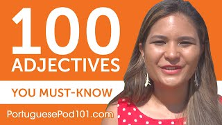 Baixar 100 Adjectives Every Portuguese Beginner Must-Know