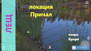 Русская рыбалка 4 озеро Куори Лещ под базой