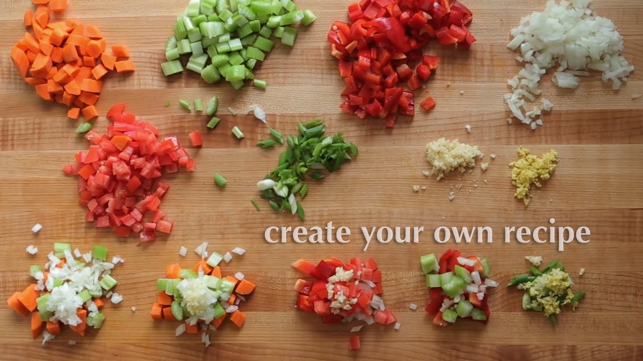 how to create your own recipe