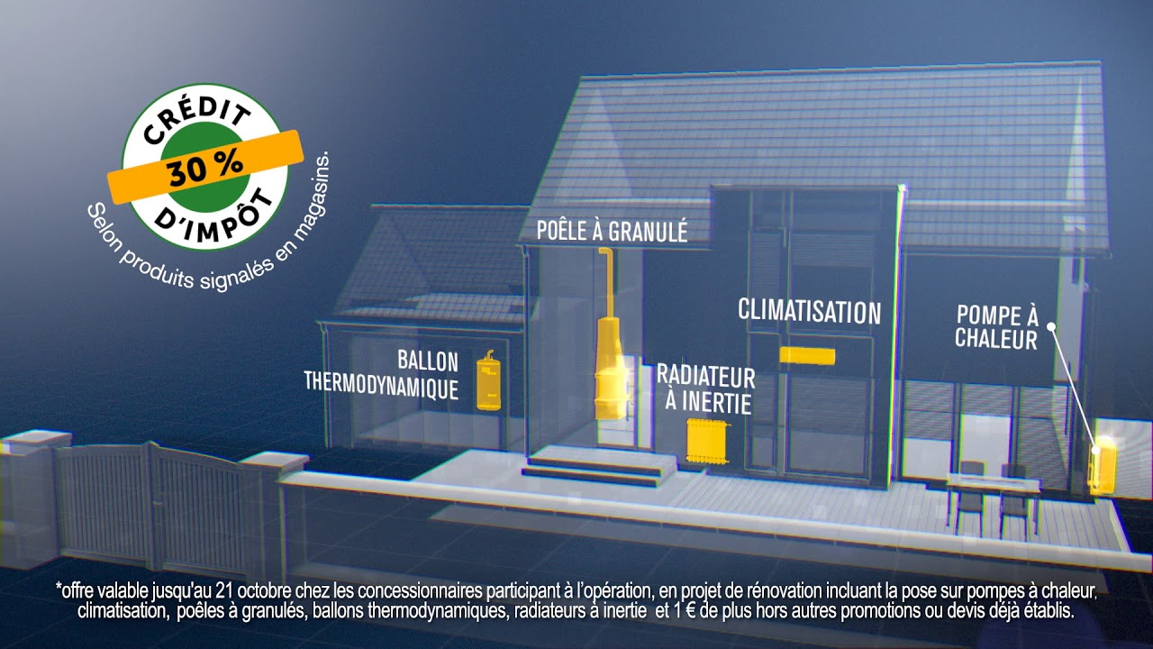 Credit Impot Chauffage Reversible isofrance fenêtres & Énergies (28)