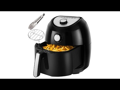 air-fryers- -accessories-cookbook- -grill-rack-and-tongs-black