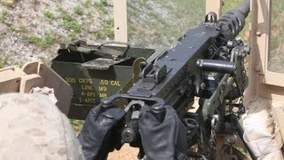 Hands-On Experience With Crew Served Weapons