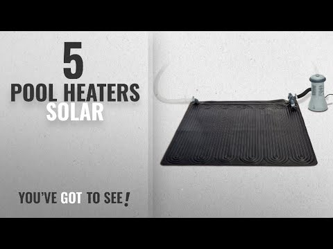 Pool Heaters Solar Best Sellers [ Winter 2018 ]: Intex Solar Heater Mat for Above Ground Swimming
