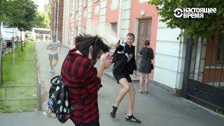 Гей-прайд в Санкт-Петербурге. Нападение на участников