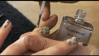 How to get polka dot nails | MyDaily Nail How To Thumbnail