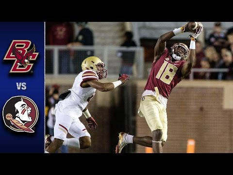 Boston College vs. Florida State Football Highlights (2016)