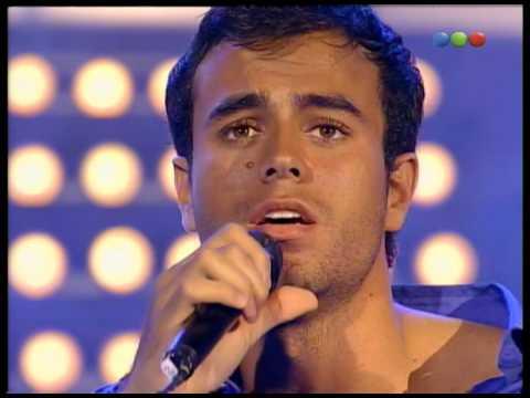 Enrique Iglesias canta Enamorado Por Primera vez - Videomatch 97