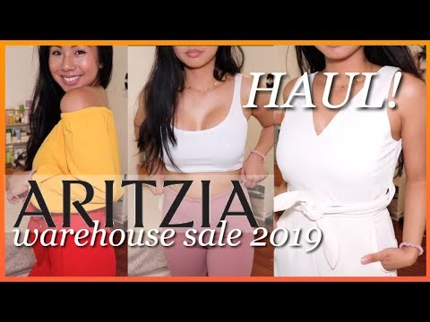 ARITZIA WAREHOUSE SALE 2019 | QUICK HAUL & TRY ON
