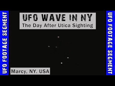 UFO SIGHTING VIDEO • Several Objects Shock Locals • Marcy NY USA