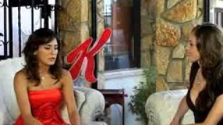 Paola Espinosa en entrevista para el canal Special K 2010