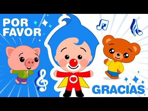Por favor y Gracias ♫ Plim Plim  ♫ Canciones Infantiles
