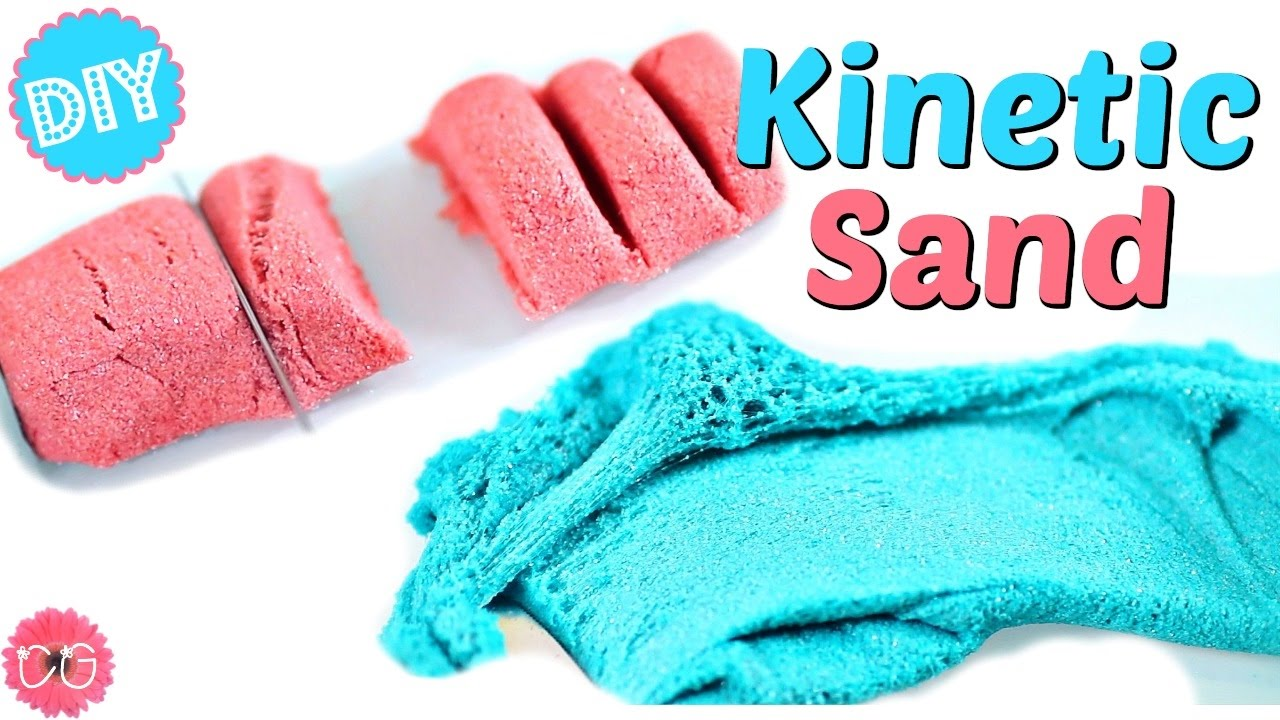 diy kinetic sand crazy sand sand slime youtube. Black Bedroom Furniture Sets. Home Design Ideas