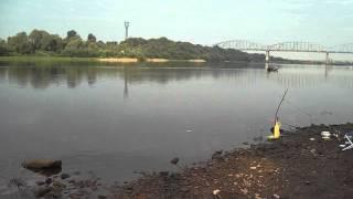 Рыбалка на Оке у Серпухова 23.08.13 2-я часть
