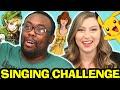 NERDY SINGING CHALLENGE : Black Nerd & Katie Wilson