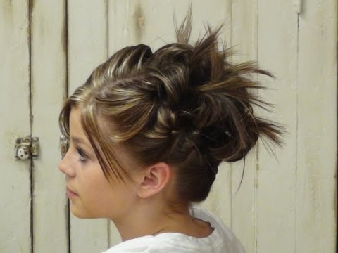 How To Style: Hair UpDo Styles for Short Hair Hairstyles