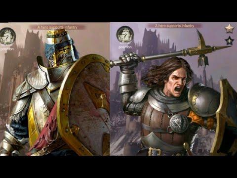 CLASH OF KINGS : NEW INFANTRY BASED HERO'S!