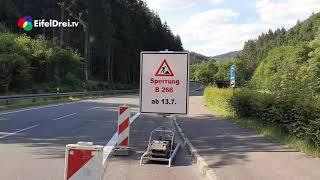 #EifelDreiTV Aktuell - Umleitungen in der #NordEifel nach #Gemünd