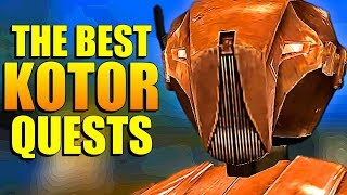 5 Best Side Quests In Star Wars Knights Of The Old Republic