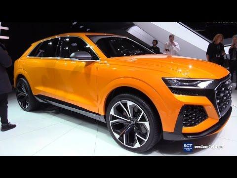 2018 Audi Q8 Sport Concept - Exterior Walkaround - Debut 2017 Geneva Motor Show