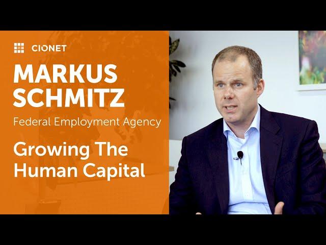 Markus Schmitz – CIO of Bundesagentur für Arbeit – Leadership Deep Dive